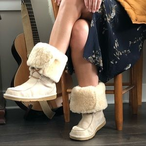 Ugg lace up boot